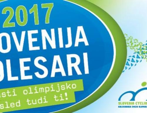 Slovenija kolesari 2017
