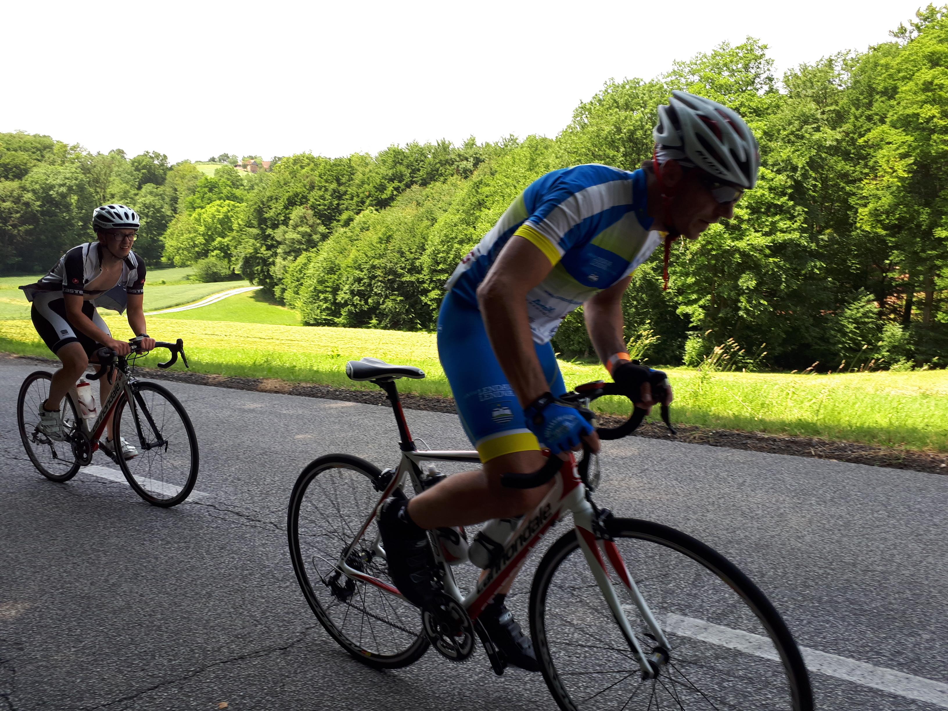 37. rekreacijski kolesarski maraton Tri srca 2017 v Boračevi